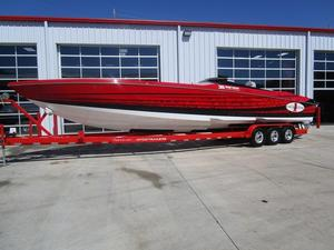 Used Cigarette 39 Top Gun Unlimited High Performance Boat For Sale