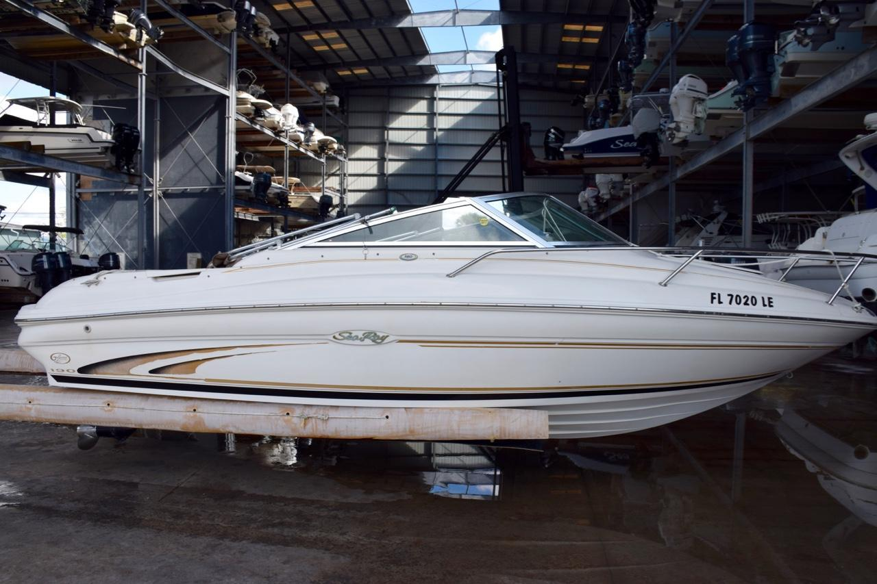 1999 Used Sea Ray 190 Cuddy Cabin Cruiser Boat For Sale