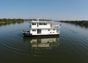 Used Darling Boat Works House Boat For Sale