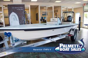 New Maverick 17 Hpx-v Center Console Fishing Boat For Sale