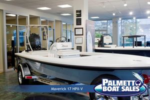 New Maverick Boat Co. 17 Hpx-v Center Console Fishing Boat For Sale
