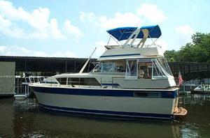 Used Chris-Craft 410 Commander Flybridge Boat For Sale