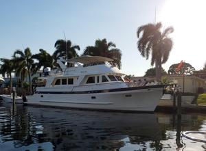 Used Grand Alaskan Flushdeck Motor Yacht For Sale