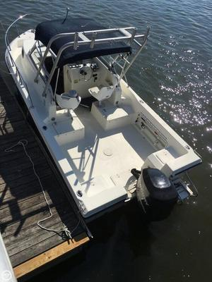 Used Sea Boss 210 WA Walkaround Fishing Boat For Sale