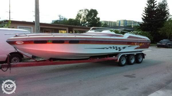 Used Sleekcraft 28 Enforcer High Performance Boat For Sale