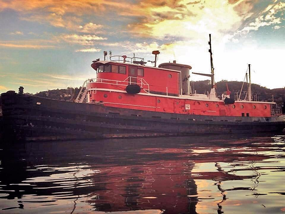1955 Used Custom Tug Converted Tugboat House Boat For Sale