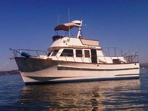 Used Monk Twin Cabin Trawler Boat For Sale
