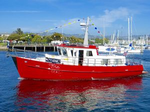 Used Seahorse Marine Coot 38 Trawler Boat For Sale