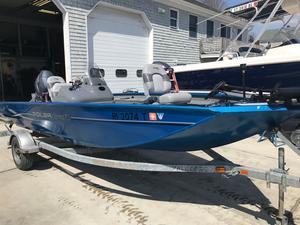 Used Polar Kraft Bass America Xt175 PB Freshwater Fishing Boat For Sale