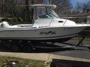 Used Seaswirl 2300 Walk Around Saltwater Fishing Boat For Sale