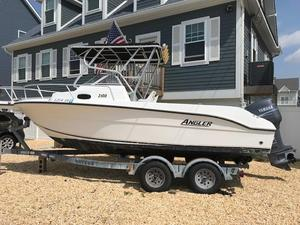 Used Angler 2100 W/A Saltwater Fishing Boat For Sale