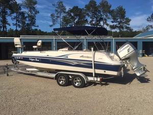 Used Hurricane 232 Fun Deck House Boat For Sale