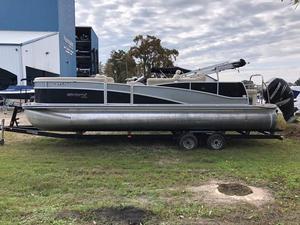 Used Harris Flotebote 250 Grand Mariner Pontoon Boat For Sale