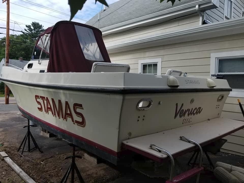 1983 Used Stamas 26 Tarpon Recent Repower Sports Fishing