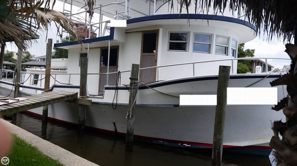 Used Dave Sintas 41 Trawler Boat For Sale