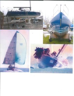 Used Andrews Design Built By Westerly 38 Racer and Cruiser Sailboat For Sale