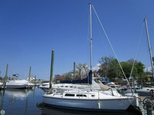 Used Catalina 25 Sloop Sailboat For Sale