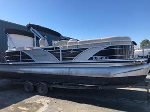 Used Aqua Patio 240 CB Pontoon Boat For Sale