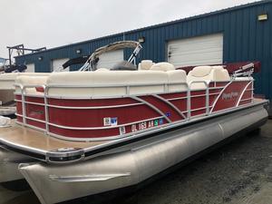 Used Aqua Patio 220 SLR Pontoon Boat For Sale