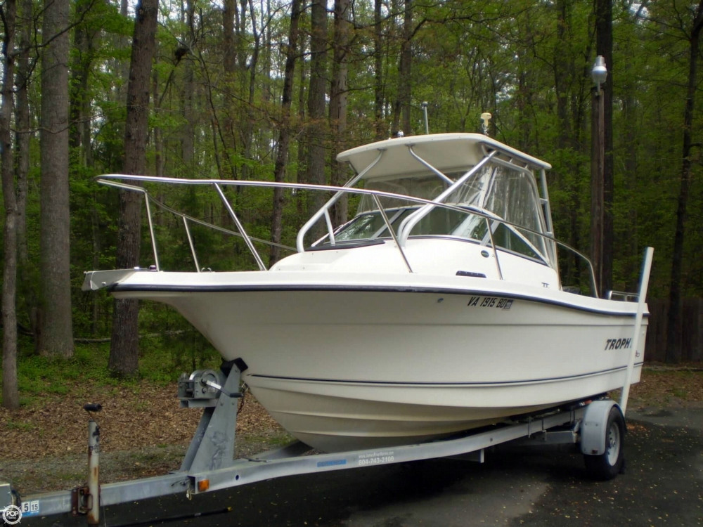 2002 used trophy pro 2002 wa walkaround fishing boat for for Fishing boats for sale by owner