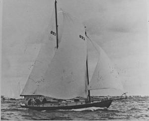 Used Alden 43' Schooner Design NO. 309 Cruiser Sailboat For Sale