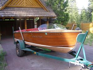 Used Chris-Craft Classic Mahogany Runabout Tender Boat For Sale