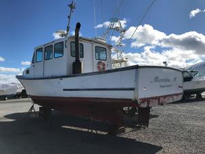 Used Duffy 35 Downeast Commercial Boat For Sale