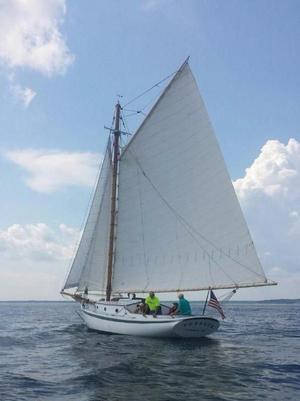 Used Friendship Sloop Lash Brothers Sloop Sailboat For Sale