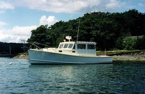 Used Jarvis Newman Lobster Pleasure Cruiser Boat For Sale