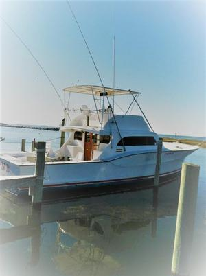 Used Jarvis Newman Sport Fisherman Sports Fishing Boat For Sale