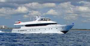 Used Monte Fino Motoryacht Flybridge Boat For Sale