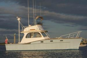 Used Brownell Downeast Flybridge Downeast Fishing Boat For Sale