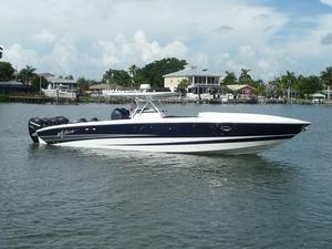 Used Motion Marine 42 SF Center Console Center Console Fishing Boat For Sale
