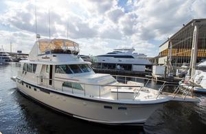 Used Hatteras Flybridge 53 ED Aft Cabin Boat For Sale