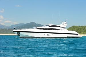 Used Mangusta 105 Motor Yacht For Sale