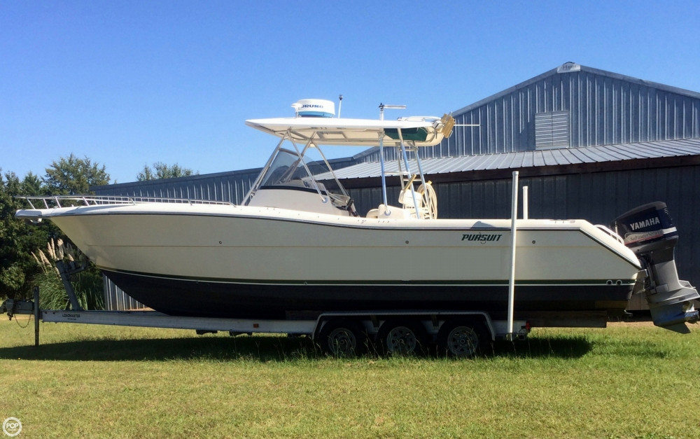 Used Pursuit 3070 CC Center Console Fishing Boat For Sale