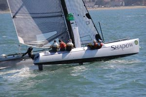 Used Morrelli Formula 40 Catamaran RD Boatworks Catamaran Sailboat For Sale