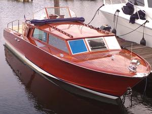 Used Serenella Delux Cabin Venetian Taxi Tender Boat For Sale