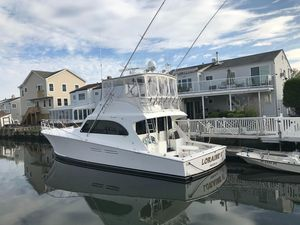 Used Post 50 Flybridge Convertible Fishing Boat For Sale