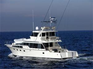 New Mikelson Long Range Luxury Sportfisher Motor Yacht For Sale