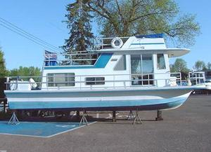 Used Gibson 36 Standard House Boat For Sale