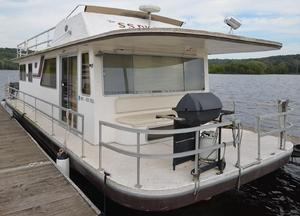 Used Gibson 41 Executive FB House Boat For Sale