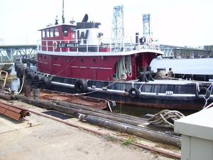 Used Model Bow Tug - Single Screw - 2400 Hp - Working Tug - Heated Year Round Barge Boat For Sale