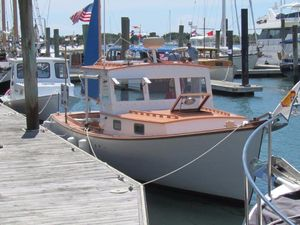 Used Ralph Stanley Downeast Lobster Yacht - Classic Maine Picnic Boat Downeast Fishing Boat For Sale
