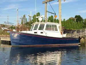 Used T. Jason Terry Jason Downeast Cruiser Commercial Boat For Sale
