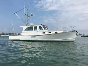Used Holland Downeast Lobster Yacht Commercial Boat For Sale