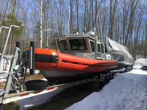 Used Safe Boats Defender Class Patrol Boat Rigid Sports Inflatable Boat For Sale