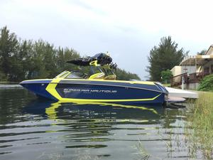 Used Nautique Super Air Nautique G25 Coastal High Performance Boat For Sale