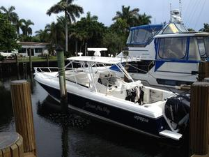 Used Intrepid 370 Cuddy Center Console Fishing Boat For Sale