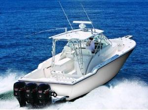 Used Strike 37 Walk-around Center Console Fishing Boat For Sale